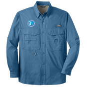 EB606 - B117E021 - EMB - Long Sleeve Fishing Shirt